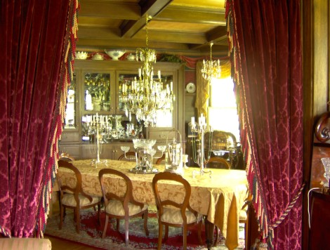 A Victorian dining room