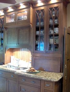 An Edwardian kitchen