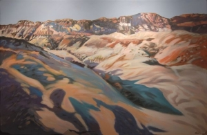 The Badlands- Painting by Jim Davies