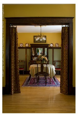1912 Edwardian Dining Room details are all original