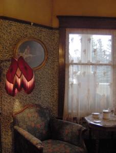 William Morris papers & fabrics were popular