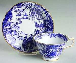 Blue Mikado by Royal Crown Derby