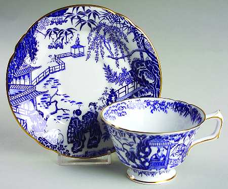 Blue Mikado by Royal Crown Derby