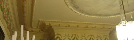 A Parlour Ceiling in the Magrath Mansion
