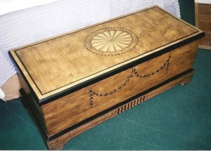 A restored trunk / chest