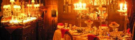 Crawford House at Christmas