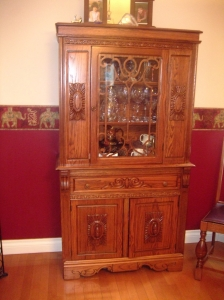 Attractive china cabinet
