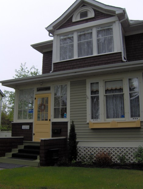 Front of 1912 House