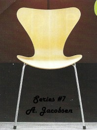 Chair by Arne Jacobsen