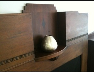 Art Deco Fireplace mantel