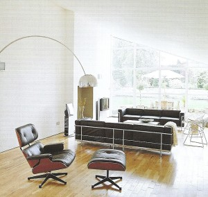 1950 s Less is More interior