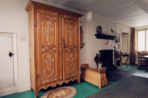 Gorgeous 18th c. armoire in the collection of Nettie Covey Sharpe