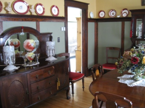 Original millwork is important to preserve.