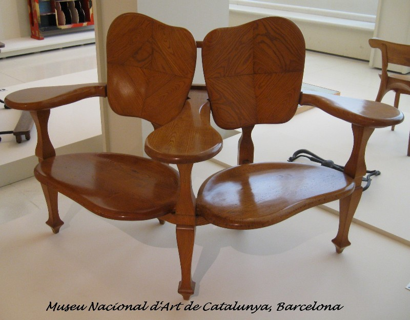 AGF 3 BArt Nouveau Furniture   Antonio Gaudi   Johanne Yakula From Times Past. Art Nouveau Furniture. Home Design Ideas