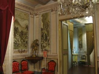 19th century parlor Victorian era style