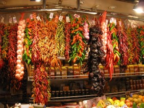 A stall selling nothing but peppers of every kind