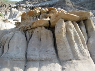 The Hoodoos in the Badlands