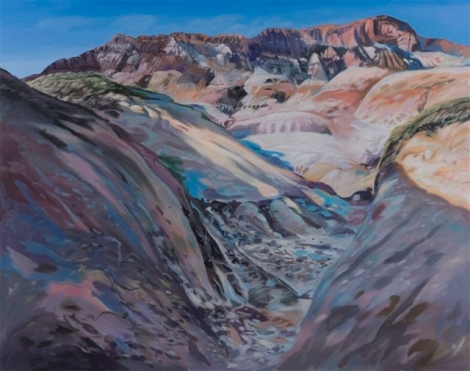 Jim Davies paints the Badlands