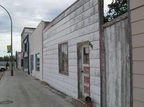 A sad main street