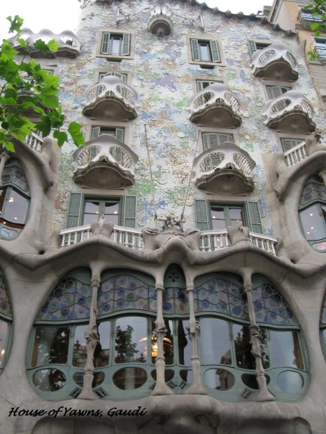 The House of Yawns by Antoni Gaudi