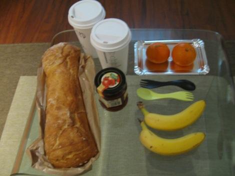 A cheap but tasty breakfast