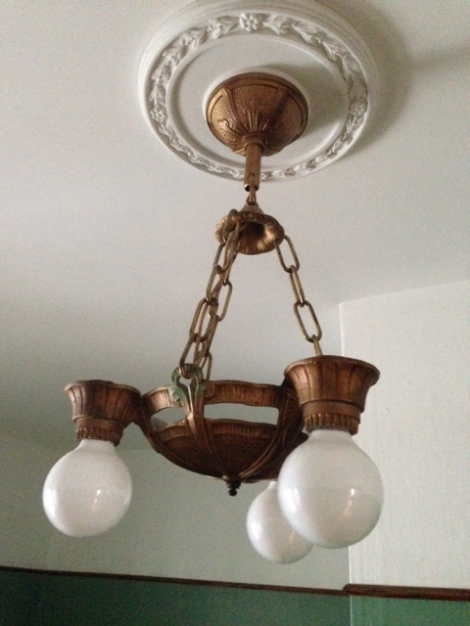 Light fixtures with downward-facing light  bulbs have fewer choices.
