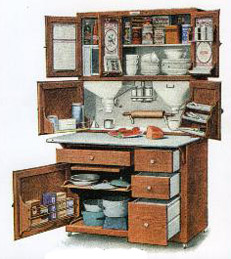 A multipurpose cabinet. Photo from Restoration Hardware Supplies