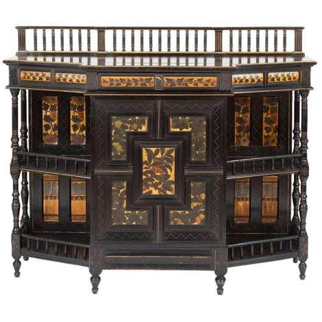 Aesthetic Movement Art Furniture. Photo by James Sansum, dealer.