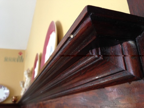Millwork is a feature detail in heritage homes.