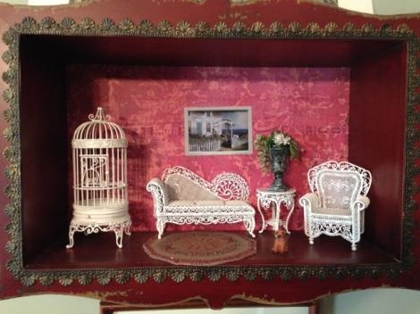 A Victorian parlour