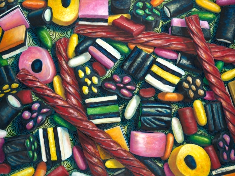 Licorice Lovers by Carmen Gonzalez