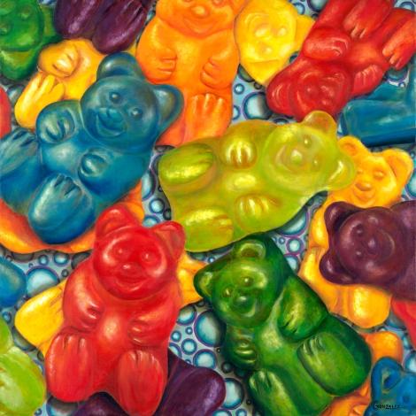 Yummy Gummy by Carmen Gonzalez