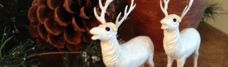 These reindeer were popular in the 1950's