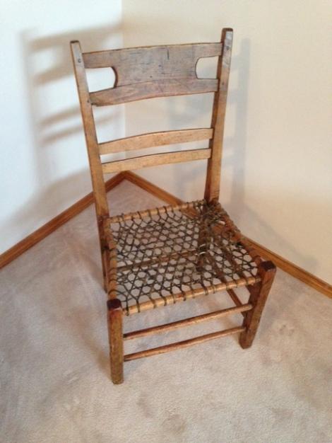 pine-chair