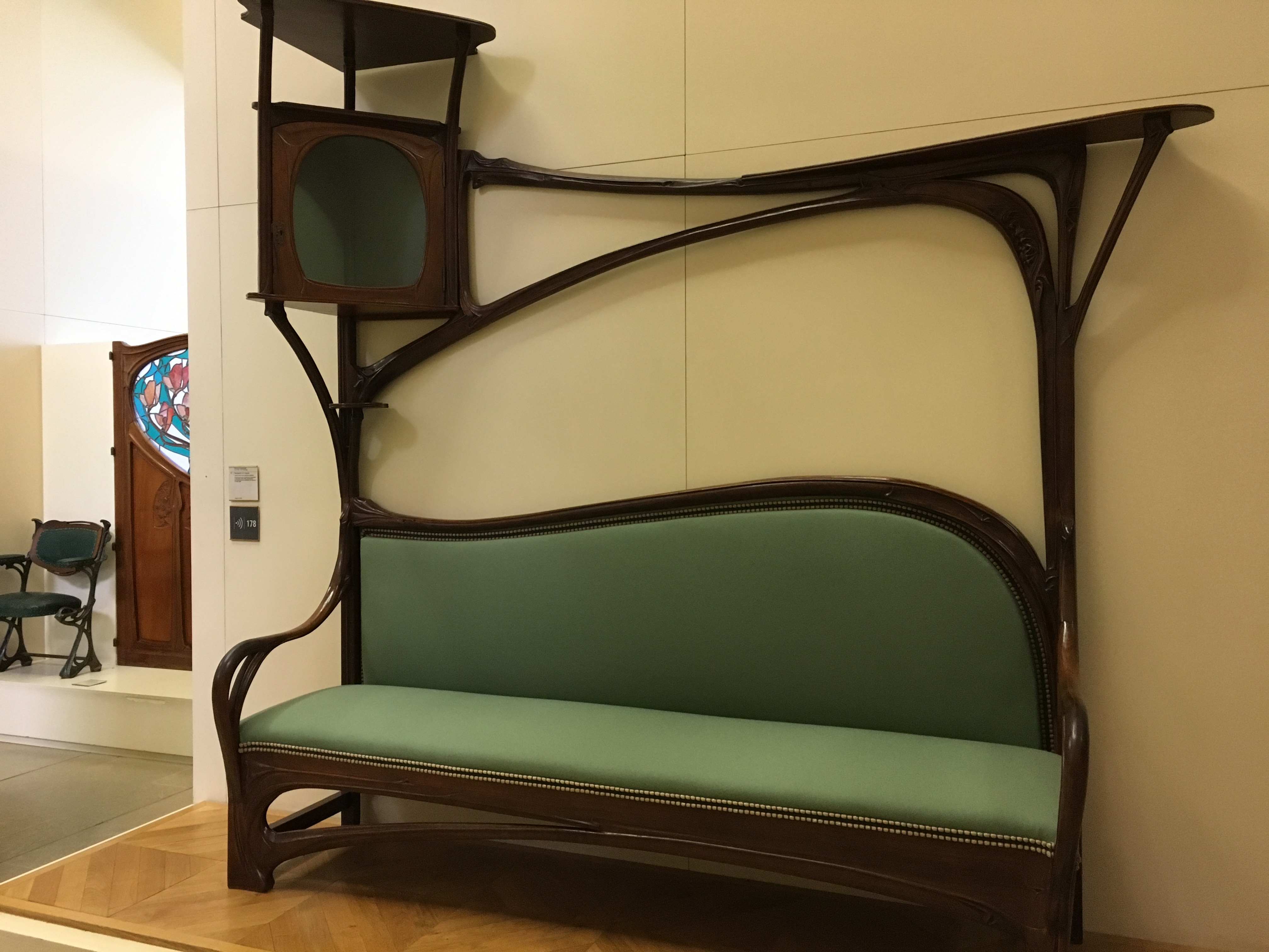 Art Nouveau Is Associated Primarily With The Decorative Arts, Furniture,  And Interiors Although The Art Of Artists Such As Aforementioned Toulouse  Lautrec ...